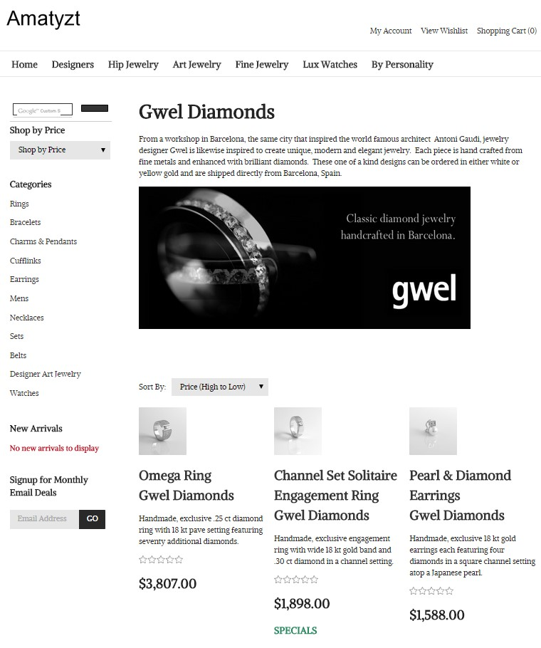 Gwel on Amatyzt.com